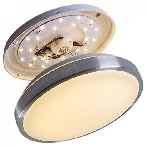 LED-Plafoniera-1x18-watt-IP44-policarbonato-lampada-da-soffitto-bagno