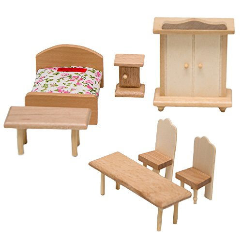 decoracin para dormitorio casa de muecas muebles en miniatura
