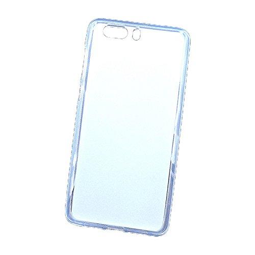 Easbuy Handy Hülle Soft TPU Silikon Case Etui Tasche für ZTE Nubia Z17 Mini S Minis Smartphone Bumper Back Cover Handytasche Handyhülle Schutzhülle