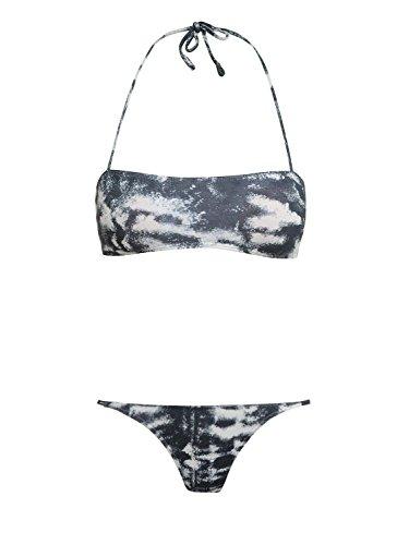 MI AND CO Damen Bikini-Set Blau