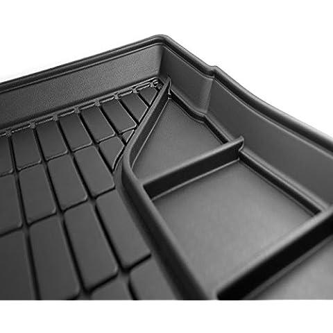 Alfombrilla para maletero AUDI A4 - B7 8F Avant (2004-2007) - Función de organizador - Perfectamente ajustada - La mejor calidad - Sin olor