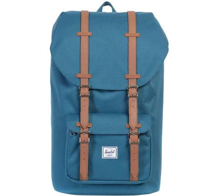 Herschel 10014-00534-Os, Sac Adulte Mixte Indian Teal (Bleu)