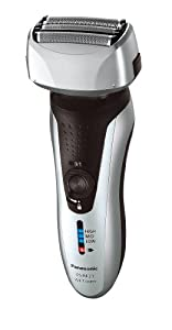 Panasonic ES-RF31 4-Blade Electric Shaver Wet/Dry with Flexible Pivoting Head for Men, Stainless