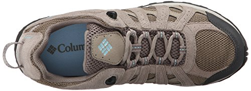 Columbia Redmond Waterproof, Stivali da Escursionismo Donna Beige (Pebble/ Sky Blue)