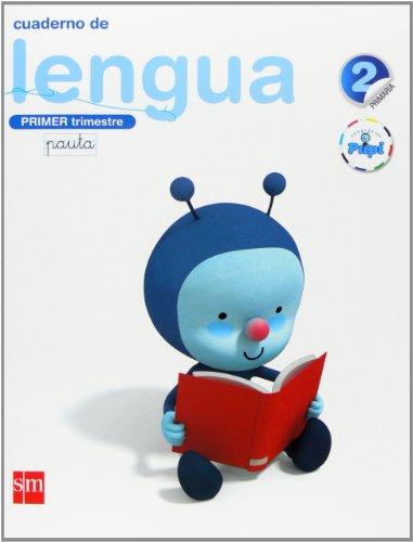Conecta con Pupi, lengua, 2 Educación Primaria. 1 trimestre. Cuaderno (pauta)