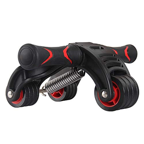 Bauchtrainer Abdominal Roller Ab Roller for Bauchmuskeltraining Ab Roller Rad-Trainingsgerät Ab Wheel-Trainingsgerät Rutschfestes Trainings- Und Fitnessrad