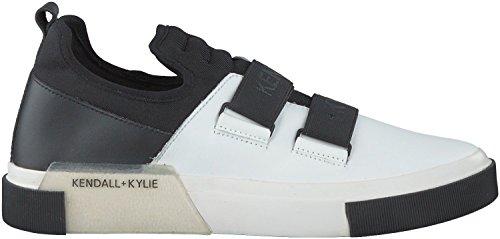 KENDALL+KYLIE , Damen Outdoor Fitnessschuhe weiß weiß / schwarz 36,5 EU weiß / schwarz