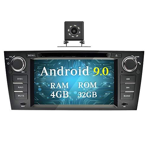 Ohok 7 Pulgadas 1 DIN Autoradio Android 9.0 PIE Octa Core 4G+32GB...