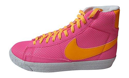 Nike  Blazer Mid Vintage (GS), Baskets hautes fille Rose - Rose