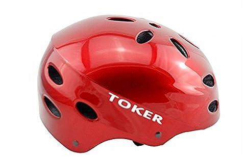 West Biking Unisex Radfahren rund Mountain atmungsaktiv Helm Bike Sport Zubehör bequemem MTB Fahrrad Helm rot rot
