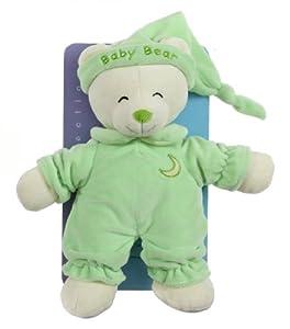 Gipsy Doudou 070110 - Oso de peluche, 24 cm, color verde y beige