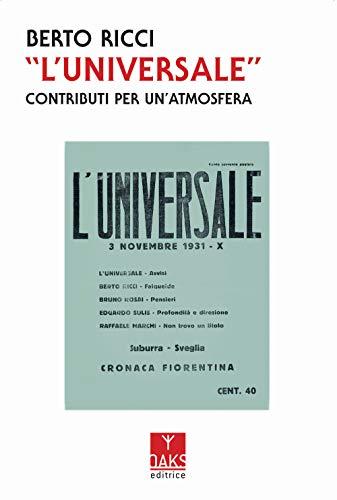 L'Universale. Contributi per un'atmosfera