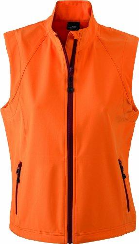 James & Nicholson Damen Jacke Softshellweste orange (orange) XX-Large