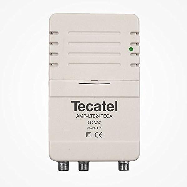 Tecatel - Amplificador de señal Interior para Antena de ...