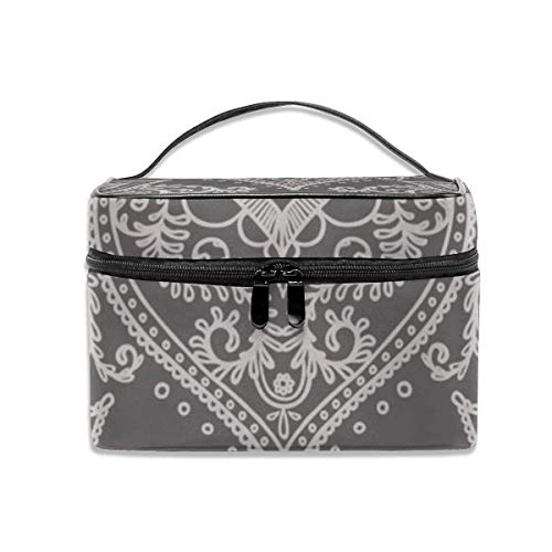 Kosmetiktasche, Make-up Tasche, Boho Ornament Portable Travel Makeup Bag Cosmetic Organizer Tote Bag for Women Girls -