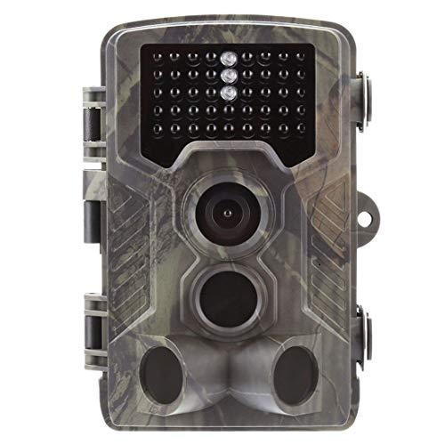 "DXY Full HD Tag- / Nachtsicht, kabellose getarnte Outdoor Überwachungskamera Wildkamera – 16 MP 1080P Jagdkamera 2.4\"" LCD/Bewegungsmelder"