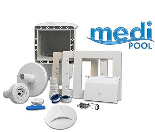 mediPOOL - Einbauskimmer Set mit umfangreichem Zubehör