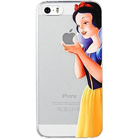 Nueva princesas Disney TPU transparente suave para Apple Iphone 4/4S 5/5S 5C 6/6S y 6+/6+ S * Comprobar oferta especial *, plástico, Snowwhite, Apple iPhone