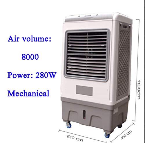 DENG&JQ Industriekühler Wasserklimaanlage, Ventilator Mobile Home Fabrik Workshop Energieeinsparung Verdunstungskühler Mit Wassertank-c -