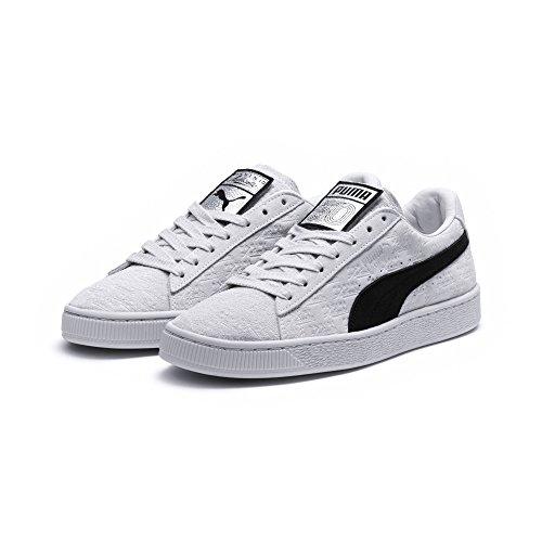 c8e9943263c Puma Suede Classic 50 x Panini White Black - 366323-01