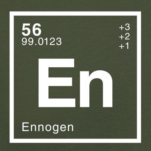 Enno Periodensystem - Herren T-Shirt - 13 Farben Olivgrün
