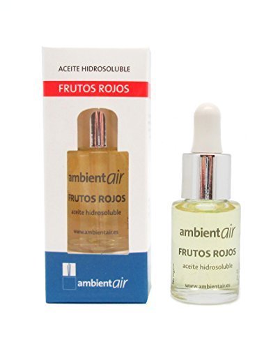 Ambientair HD015RRAA - Aceite hidrosoluble, aroma frutos rojos, 15 ml