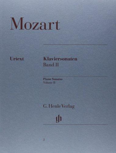 Piano Sonatas   Vol. 2 - piano - (HN 2)
