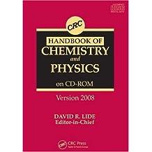 Handbook of Chemistry and Physics, Version 2008, CD-ROM