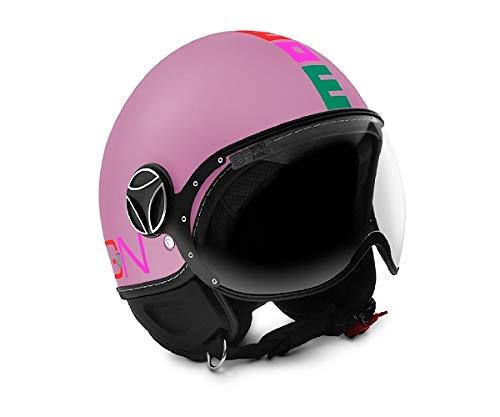 Momo - Casco FGTR Baby Pink Matt/Multi.JS