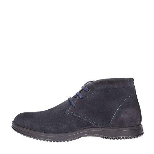 IGI&CO 66833 blu notte scarpe uomo sportive alte camoscio polacchini lacci Blu