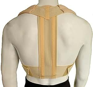 Posture Corrector Brace/Orthopaedic Comfortable UPPER Back Support Firm Lumbar Medical Belt (Medium)