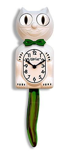 Limited Edition Candy Cane Green Kit-Cat Klock®