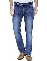 Raa Jeans Slim Fit Men's Medium Blue Towel wash Jeans