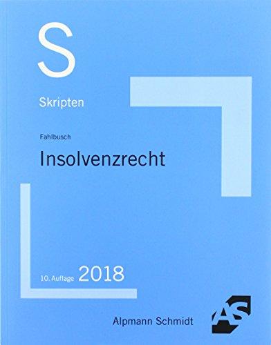Skript Insolvenzrecht: und Anfechtungsrecht