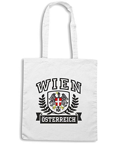 T-Shirtshock - Borsa Shopping TSTEM0100 wien osterreich Bianco