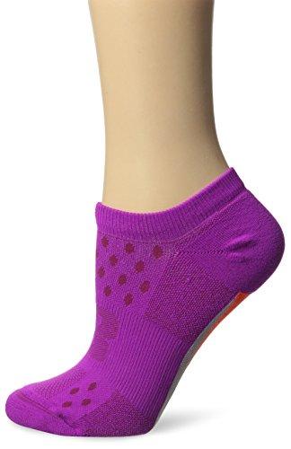 New Balance Unisex 1 Pack Technical Elite NBx Minimus No Show Socks, Pink/White