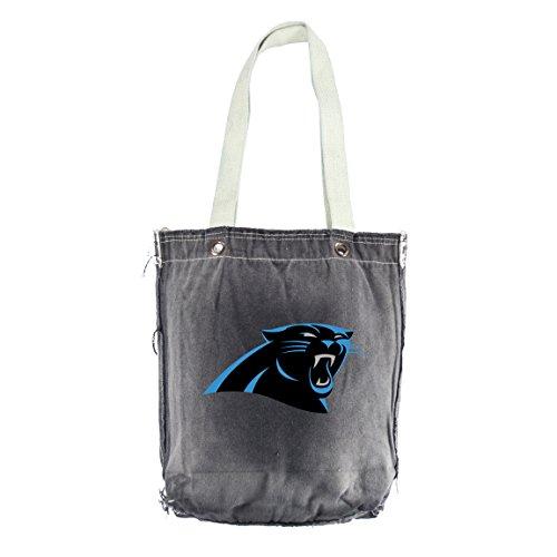 NFL Carolina Panthers Vintage Shopper, 13x 35,6cm, Schwarz