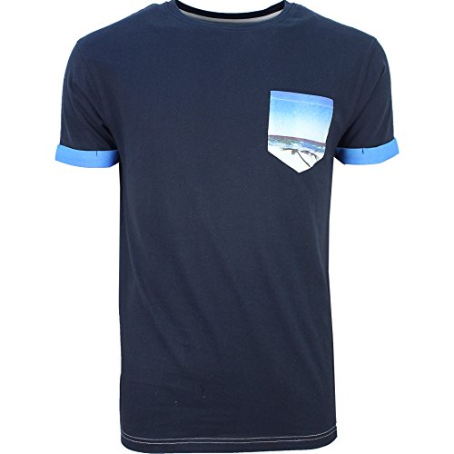 SoulStar Herren T-Shirt Navy