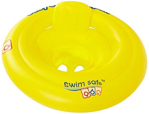 Bieco 22032096 - Schwimmsitz für Babys von 0 bis 12 Monate, bis maximal 11 kg, gelb