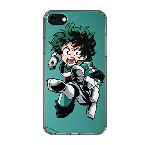 ff7971af1d6 My Hero Academia - Izuku Midoriya Deku Silicone Gel Rubber Shockproof XS  Case Mobile Phone Case