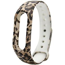 multicolor de moda hermosa de goma correas de reloj de pulsera de silicona resistente al agua para la banda XIAOMI MI 2 cute