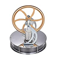 Carolui Low Temperature Stirling Engine Motor Steam Heat Gift Cool Creative Science Teaching Model Educational Toy