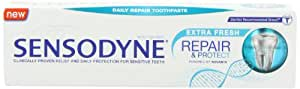 Sensodyne Repairand Protect Extra Fresh Toothpaste 75 ml Pack of 3