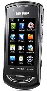 Samsung S5620 Smartphone (Touchscreen, Social-Networking-& Instant-Messaging-Dienste) deep-black