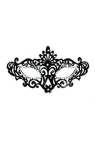 Arade Mask Kostüme (lackiert Maske weiche Faser, Strass verziert Satin Zugband.Für prom, Karneval,)