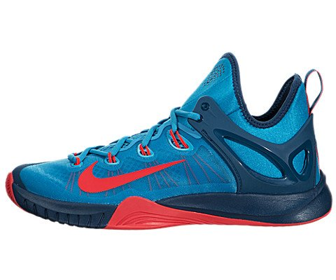 the latest 9fb7d 62025 Nike Men s Zoom Hyperrev 2015 Blue Lagoon Brght Crmsh Bl FRC Basketball  Shoe 11