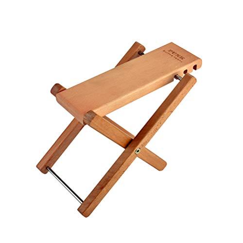 SUPVOX Fußstütze aus Holz, Fußstütze verstellbar für klassische Gitarre (Holzfarben)