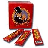 Smoking King Size Slim RED-50 Hefte je 33 Blatt Zigarettenpapier, Zellstoff, Rot, 13 x 11 x 6 cm