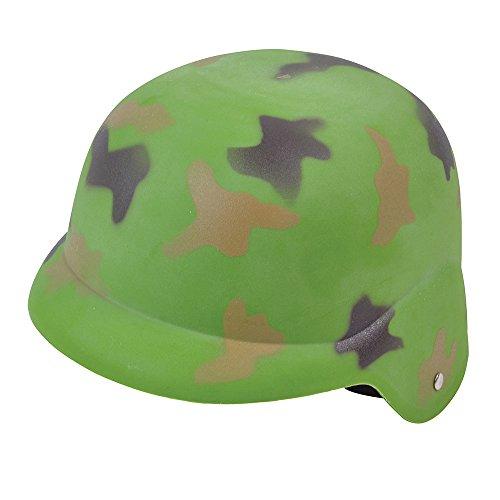 Bristol Novelty bh572Camouflage Helm, grün, One Size