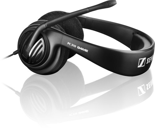 Sennheiser PC 310 Gaming Headset (3,5mm Klinkenstecker, Mikrofone) schwarz